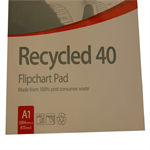 Nobo Flipchart Pad Recycled 40 sheets ( A1)