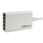 PNY P-AC-5UF-WUK01-RB Indoor Grey,White mobile device charger