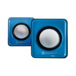 TechZone TZ15SPK-AZ Negro, Azul, Plata altavoz