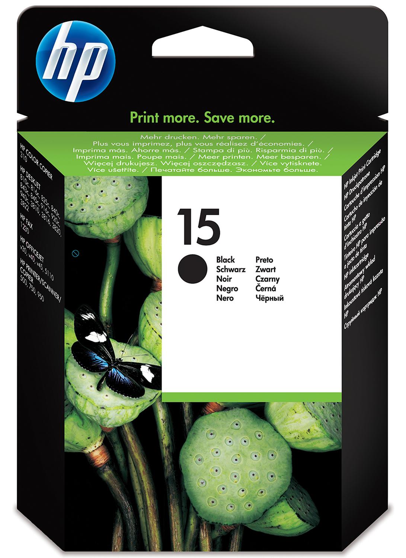 HP 15 Origineel Zwart 1 stuk(s)