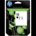 HP 15 Original Negro 1 pieza(s)