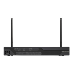 Cisco 881 4G wired router Gigabit Ethernet Black