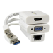 StarTech.com Macbook Air Accessories Kit - MDP to VGA / HDMI and USB 3.0 Gigabit Ethernet Adapter MACAMDPGBK