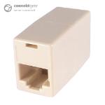 CONNEkT Gear RJ45 CAT5e Coupler - Cream