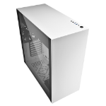 Sharkoon Pure Steel computer case Midi ATX Tower Black,White