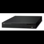 PLANET H.265 25-ch 4K Network Video Black