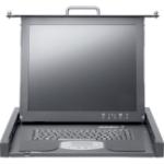 "Fujitsu RC25 17"" 1280 x 1024pixels Grey 1U rack console"