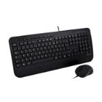 V7 CKU300FR toetsenbord USB AZERTY Frans Zwart