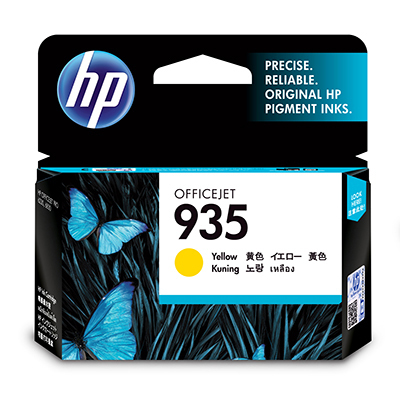 HP 935 Yellow Original Ink Cartridge Yellow ink cartridge