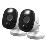 Swann SWPRO-1080MSFBPK2 CCTV security camera Indoor & outdoor Bullet Ceiling/wall 1920 x 1080 pixels