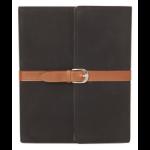 Urban Factory Executive Folio iPad Case with stand (rotates) for iPad 2, New iPad Black