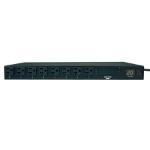 Tripp Lite 1.9kW Single-Phase ATS / Metered PDU, 120V (16 5-15/20R), 2 L5-20P / 5-20P adapters, 2 12ft Cords, 1U Rack-Mount