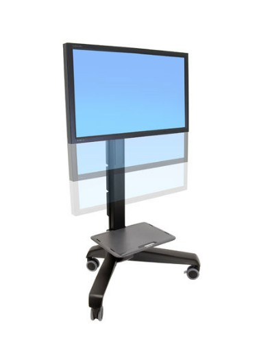 Ergotron Neo-Flex Mobile MediaCenter UHD Black Flat panel Multimedia cart