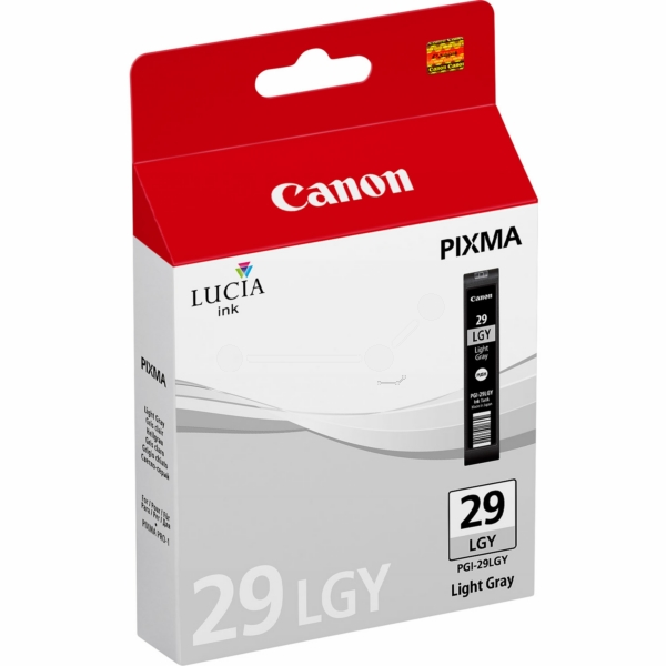 Canon 4872B001 (PGI-29 LGY) Ink cartridge gray, 1.32K pages, 36ml