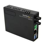 StarTech.com 10/100 Multi Mode Fiber Copper Fast Ethernet Media Converter ST 2 km