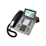 AGFEO ST 45 IP Wired handset LCD Silver