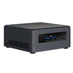 Intel NUC BLKNUC7I7DNH2E PC/workstation barebone i7-8650U 1,9 GHz UCFF Zwart BGA 1356