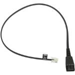 "Jabra 8800-00-25 telephone cable 19.7"" (0.5 m) Black"