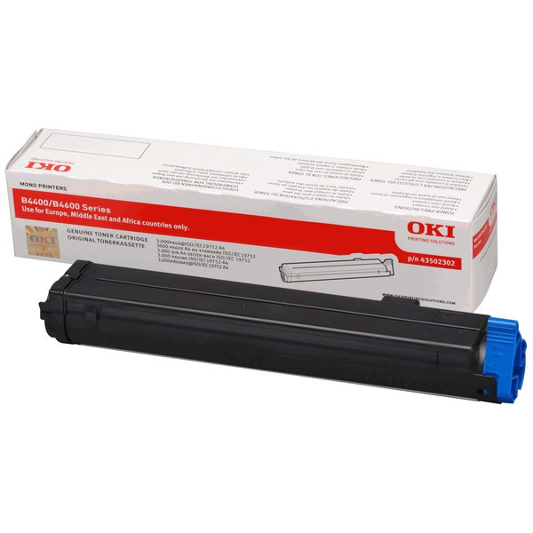 OKI 43502302 Toner black, 3K pages