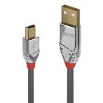 Lindy 36632 USB cable 2 m USB 2.0 USB A Mini-USB B Grey