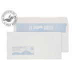 Blake Purely Environmental Wallet Self Seal Low Window White DL 110×220 90gsm (Pk 1000)