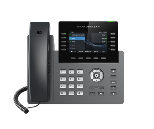 Grandstream Networks GRP2615 IP phone Black,Grey Wired handset TFT 10 lines Wi-Fi