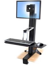 Ergotron WorkFit-S, Single LD Sit-Stand Workstation