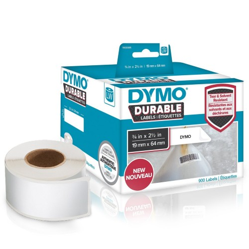 DYMO 1933085 DirectLabel-etikettes, 19mm x 64mm, Pack qty 900