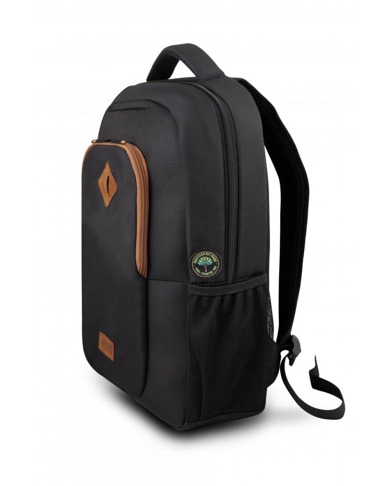 "Urban Factory ECB14UF maletines para portátil 35,6 cm (14"") Mochila Negro"