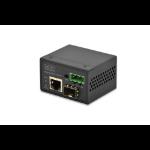 Digitus DN-85004 100Mbit/s Black network media converter