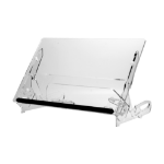 R-Go Tools GO Flex Document Holder, Medium, adjustable, transparent