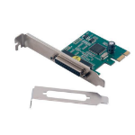 MCL Carte PCI express parallèle - 1 port DB25 femelle (normal + LP) tarjeta y adaptador de interfaz Interno Paralelo
