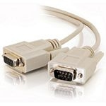 C2G 2m DB9 Cable serial cable Grey