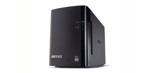 Buffalo DriveStation HD-WLU3 disk array 4 TB Desktop Black
