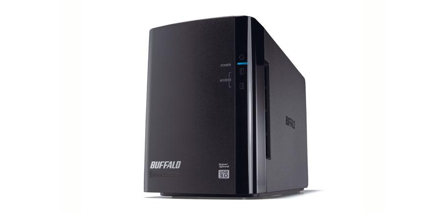 Buffalo DriveStation HD-WLU3 disk array 4 TB Desktop Black