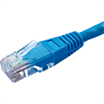Cablenet 67 4020 2m Cat5e U/UTP (UTP) Blue networking cable
