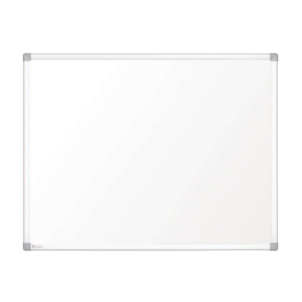 Nobo Pizarra blanca Prestige magnética acero vitrificado 2400x1200 mm con marco de aluminio