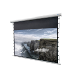 "Celexon DELUXX Cinema - 177cm x 99 cm - 80"" Diag - 4k Pro Fibre MWHT - Electric Tensioned Projector Screen"