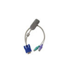 Raritan P2CIM-APS2 cable interface/gender adapter 2xPS/2 VGA Grey