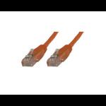 Microconnect CAT5e UTP 3m 3m Cat5e U/UTP (UTP) Orange networking cable