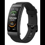 """Huawei TalkBand B6 AMOLED Armband activity tracker 3.89 cm (1.53"""") IP57 Black"""