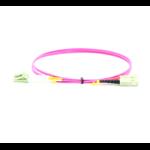 Microconnect FIB4220015P fibre optic cable 1.5 m OM4 LC/PC SC/PC Violet