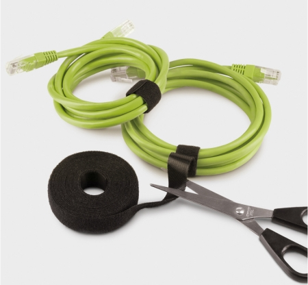 LABEL-THE-CABLE ROLL CABLE TIE BLACK