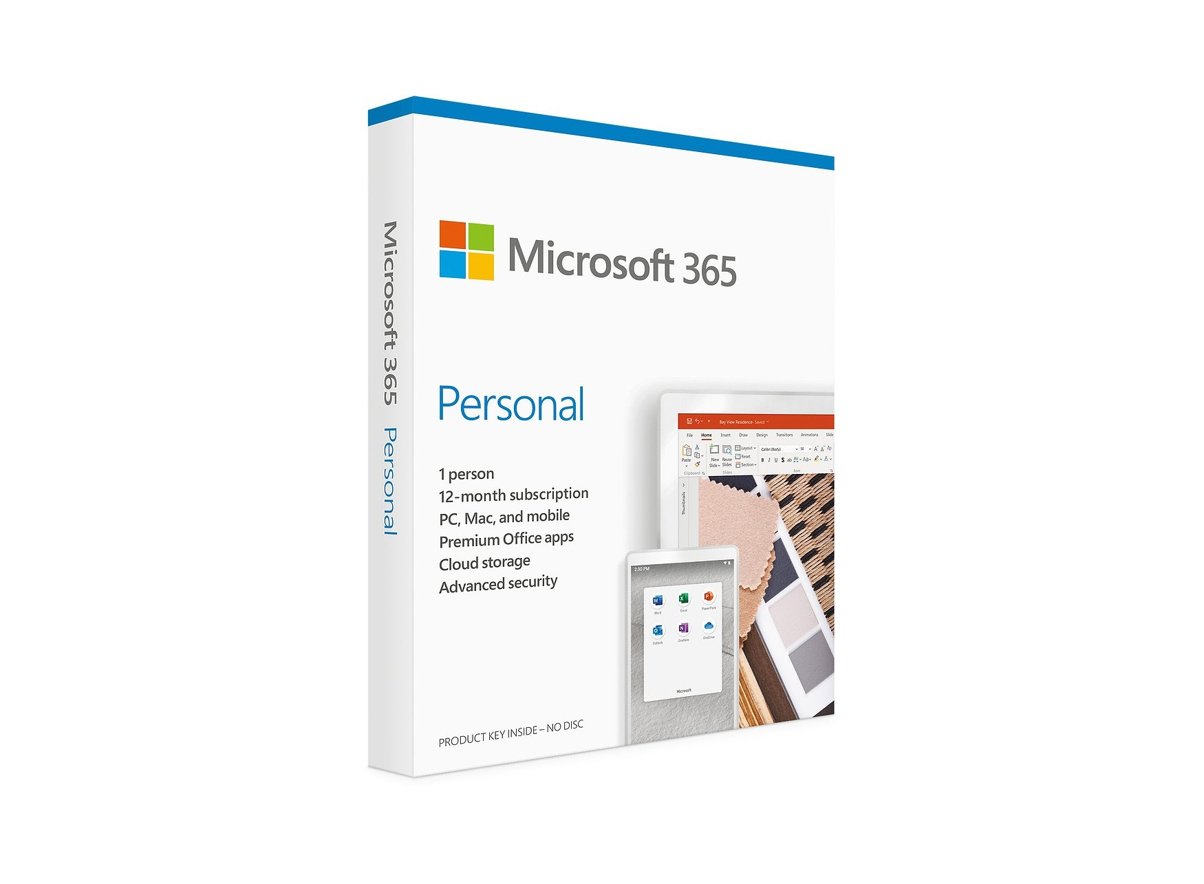 HP Microsoft 365 Personal 12 month 1 license(s) 1 year(s)