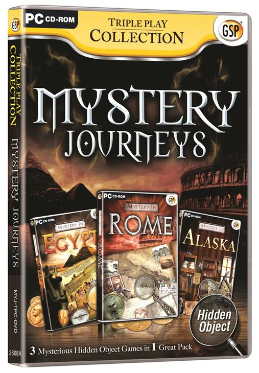 Avanquest Triple Play Collection - Mystery Journeys