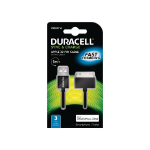 Duracell Sync/Charge Cable 1 Metre Black mobile phone cable