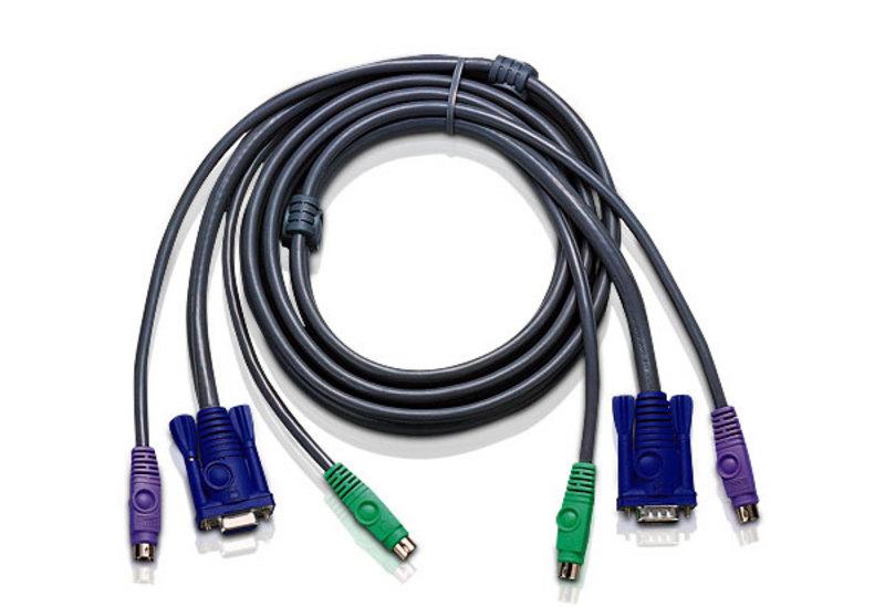 Aten 10ft PS/2 3m Black KVM cable