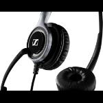 Sennheiser SC 660 TC Binaural Head-band Black,Silver headset 507099