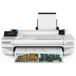 HP Designjet T125 large format printer 1200 x 1200 DPI Thermal inkjet Ethernet LAN Wi-Fi