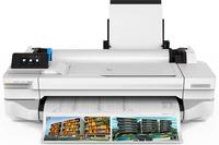 HP Designjet T125 large format printer 1200 x 1200 DPI Thermal inkjet Ethernet LAN Wi-Fi